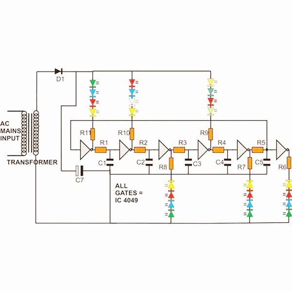 electrical and electronics engineering  dancing led display
