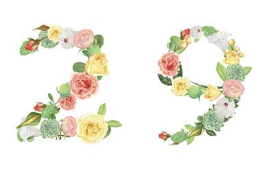 A floral number 29