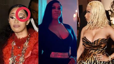 OMG! Cardi B e Nicki Minaj se envolvem em briga, Rah Ali também entra na briga, veja o vídeo!