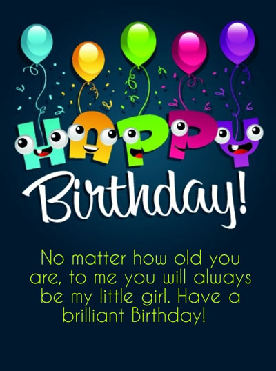 Cute Birthday Wishes | Quotes | Messages and Images for Beautiful Daughter