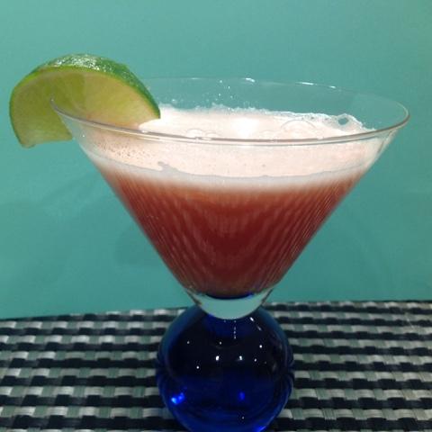 watermelon lime coctail