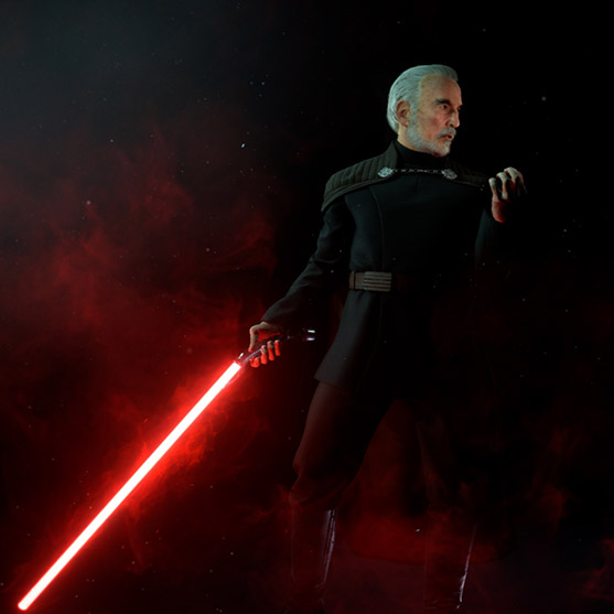 COUNT DOOKU Wallpaper Engine