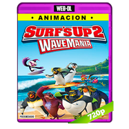 Surf's Up 2: WaveMania (2017) WEB-DL 720p Audio Dual Latino-Ingles