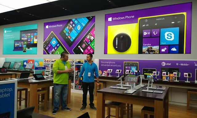 A Microsoft Online Store continua crescendo