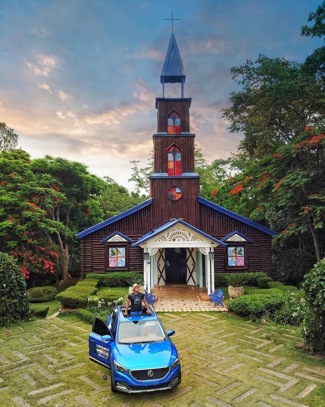Capilla La Milagrosa, ubicada en la comunidad de Damajagua, Los Montones, en San José de las Matas, República Dominicana.