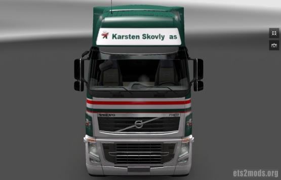 Volvo Karsten Skovly skin