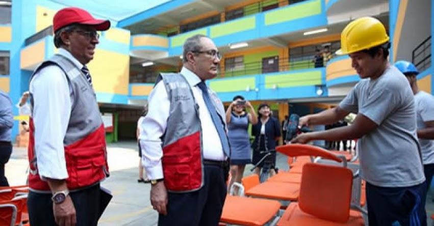 Alcaldes deben colaborar con infraestructura para el buen desarrollo del año escolar, sostuvo el Ministro de Educación Idel Vexler - www.minedu.gob.pe - www.minedu.gob.pe