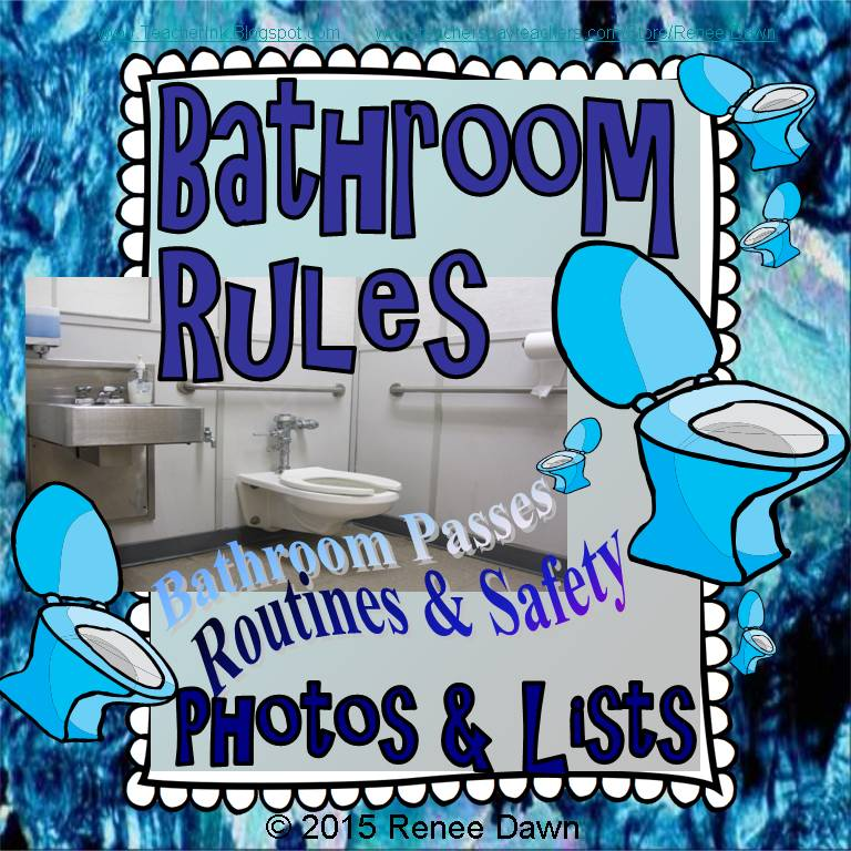 Bathroom Rules Kit