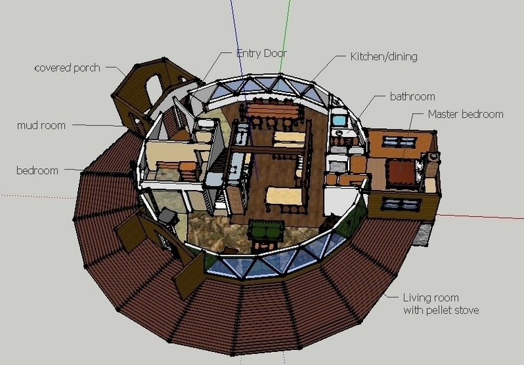 Dome Houses Floor Plans House And Home Design