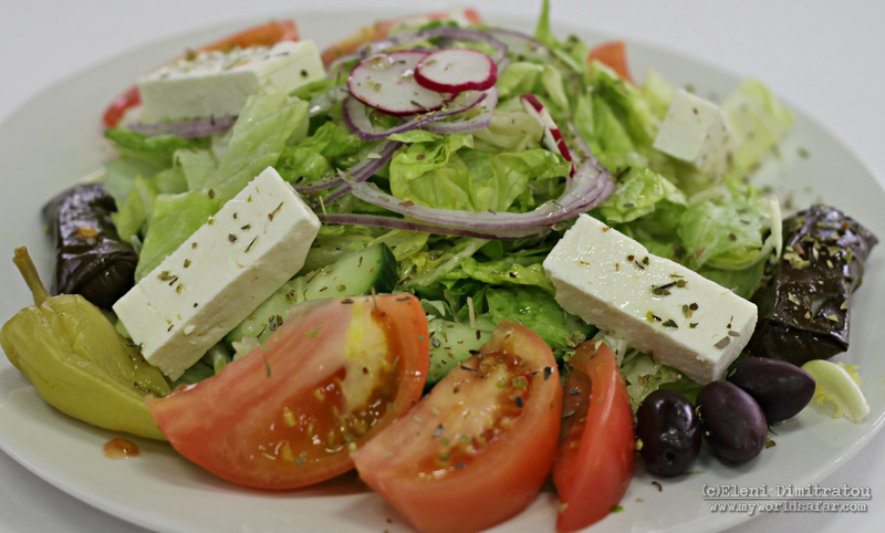 greek salad NY version