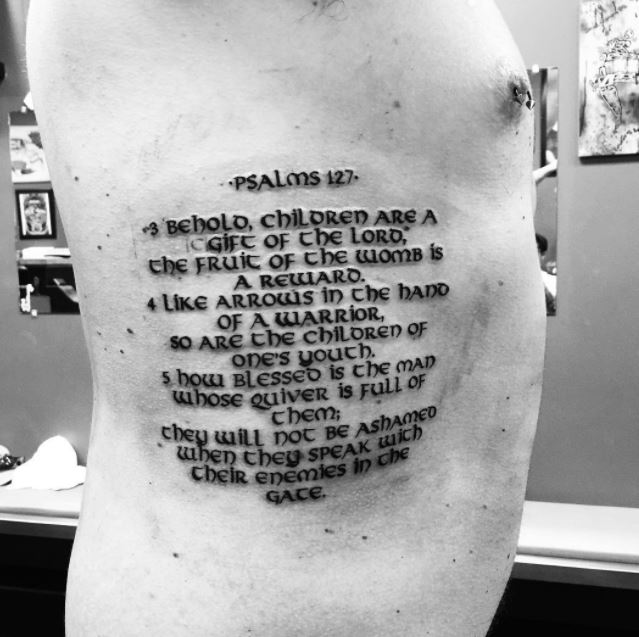 50 Bible Verse Tattoos For Men: 50+ Best Bible Verse Tattoos For Men (2019)