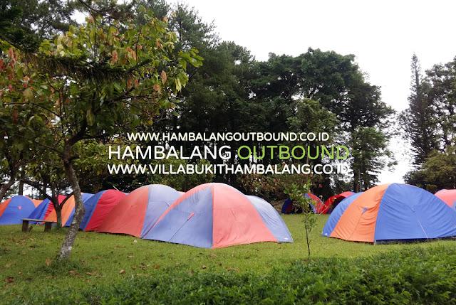 Paket Camping Outbound di Sentul Bogor