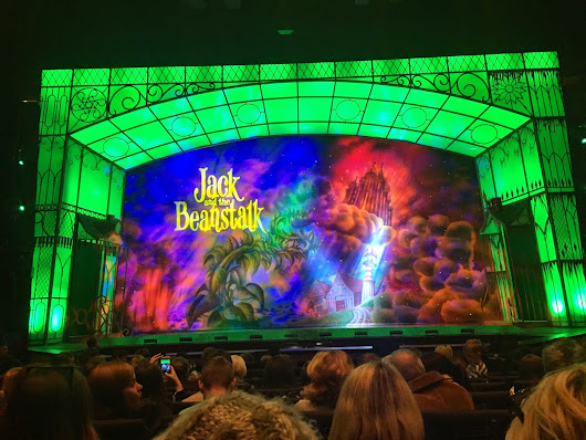 Oh, no it isn't… oh, yes it is - the panto!