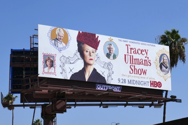 Tracey Ullmans Show season 3 HBO billboard