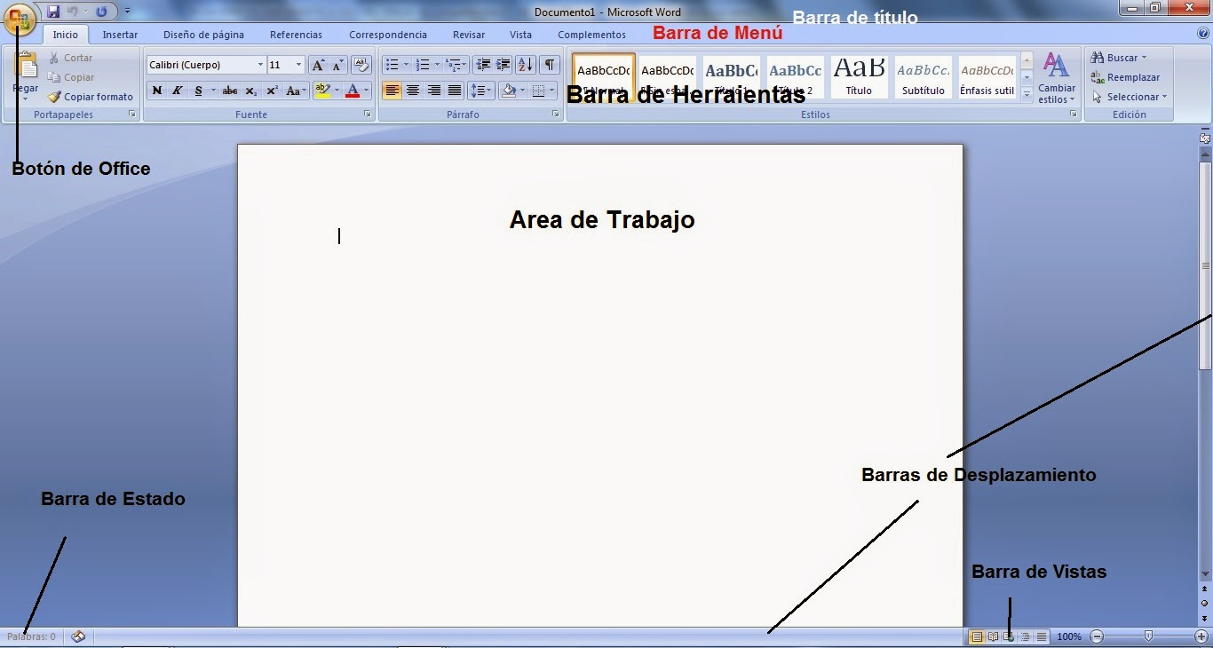 Tema Microsoft Word Edicion Basica De Texto Grupo Sextos Fecha
