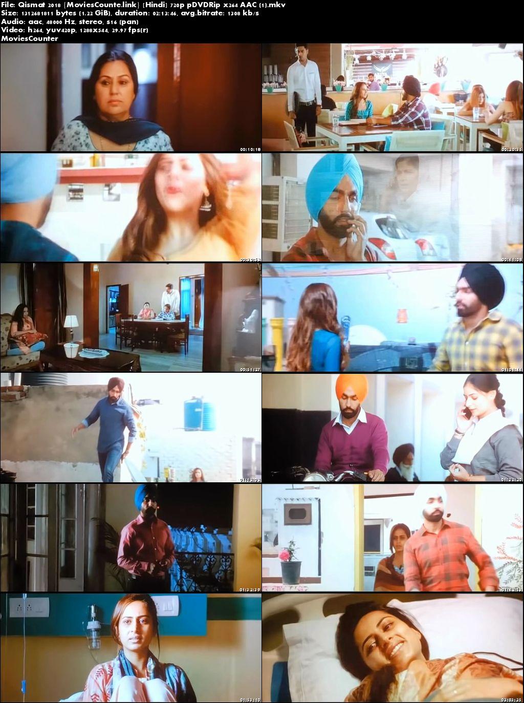 Screen Shots Qismat 2018 Punjabi HD 720p