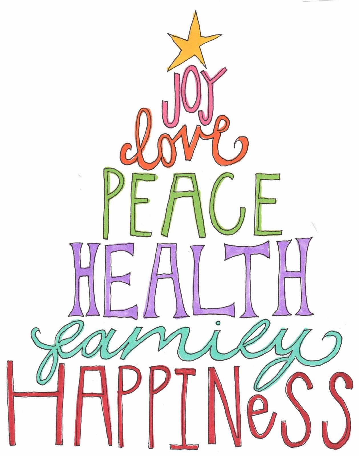 dizzy daisies: joy, love, peace, health, family, happiness
