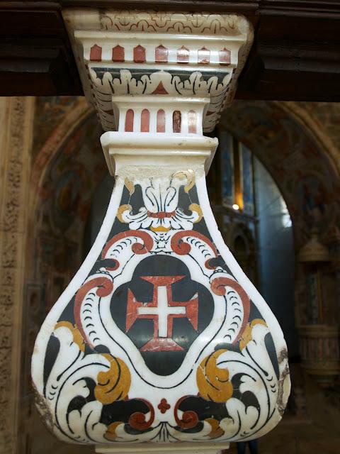 Emblema de los Caballeros de Cristo en Tomar