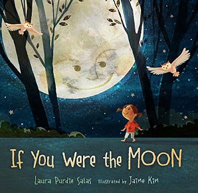 If You Were the Moon is a beautifully illustrated combination of descriptive prose and interesting facts. It's a nonfiction text with a fiction flare that will hook kids in and make them think about how important the moon is. #picturebook #nonfiction