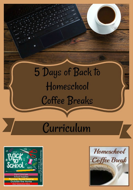 Back to Homeschool Coffee Break - Curriculum - part of the Back to Homeschool Blog Hop, here on Homeschool Coffee Break @ kympossibleblog.blogspot.com and hosted by the Homeschool Review Crew @ HomeschoolReviewCrew.com