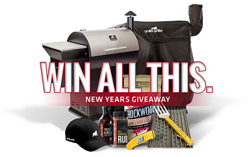 Grilla Grills giveaway of a free kamado grill or pellet grill