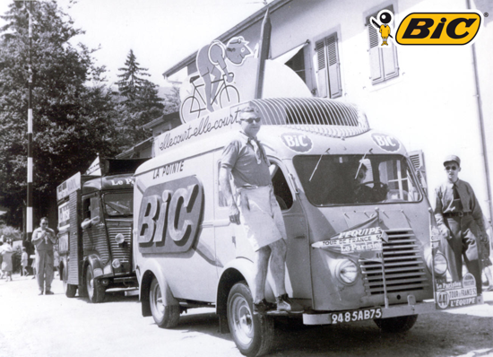 Bic at the Tour de France 1952