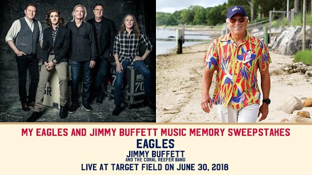 The Eagles and Jimmy Buffett Sweepstakes
