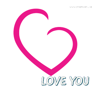 Love You Unique Greetings collection from greetings live png