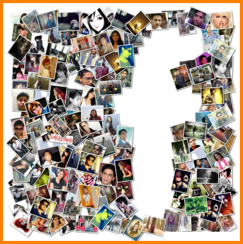 create a collage for facebook