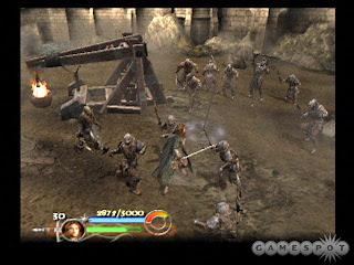 O Senhor dos Anéis: O Retorno do Rei (PS2) 2003