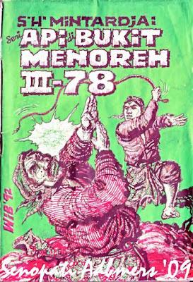 Sampul Api Di Bukit Menoreh Jilid III - 78 di mana Ki Manuhara Muncul