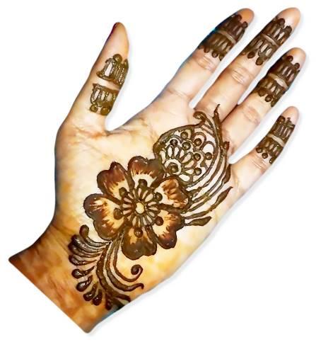 Easy Mehndi Designs