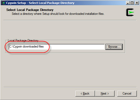 How to install Cygwin offline ~ Testools
