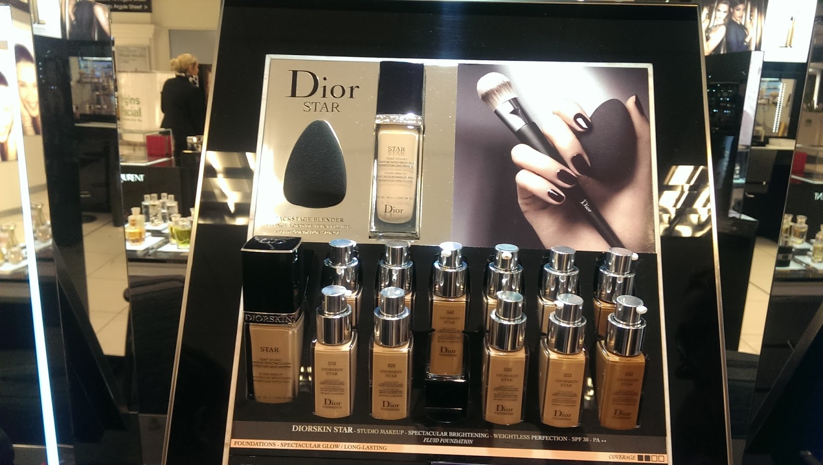 Dior Star Counter Display