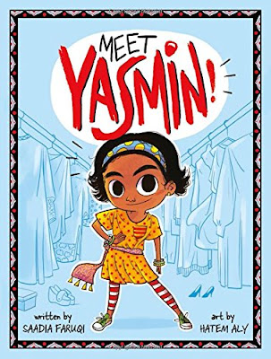 Yasmin is an energetic and lively second grader. While she gets into problems occasionally, she's quick to find ways to solve them. It is refreshing to see a diverse, female protagonist like Yasmin who faces easily relatable problems for young readers. Meet Yasmin! is a great beginning chapter book for elementary-aged readers! #MeetYasmin! #NetGalley #PictureBook #Capstone