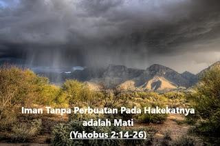 Ilustrasi Khotbah Kristen tentang Iman Tanpa Perbuatan