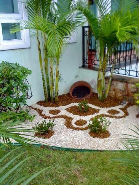 Decoracion De Jardines Con Piedras - Jardin-con-piedras