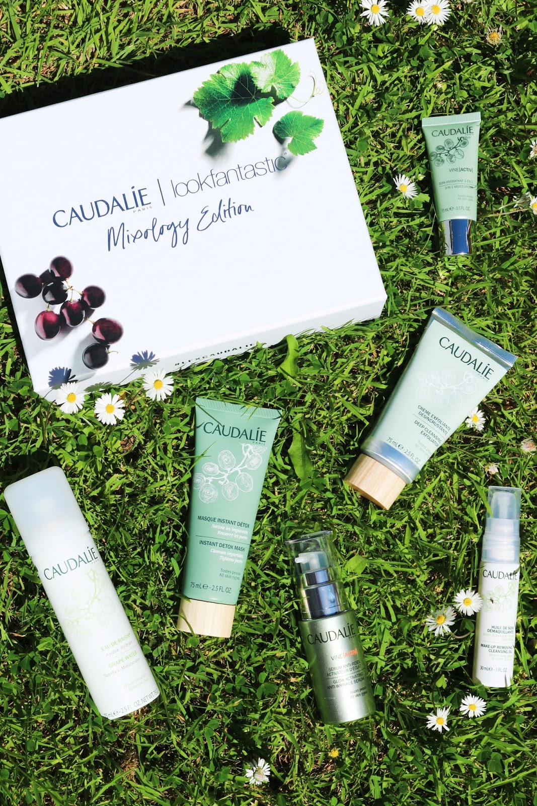 look fantastic caudalie beauty box