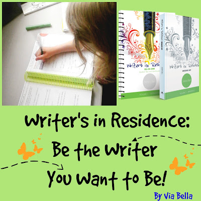 apologia, homeschooling, writers in residence, be the writer you want to be, product review, Via Bella, homeschool writing curriculum Debra Bell language arts curriculum #hsreviews #DebraBell #middleschoollanguagearts #middleschoolwriting
