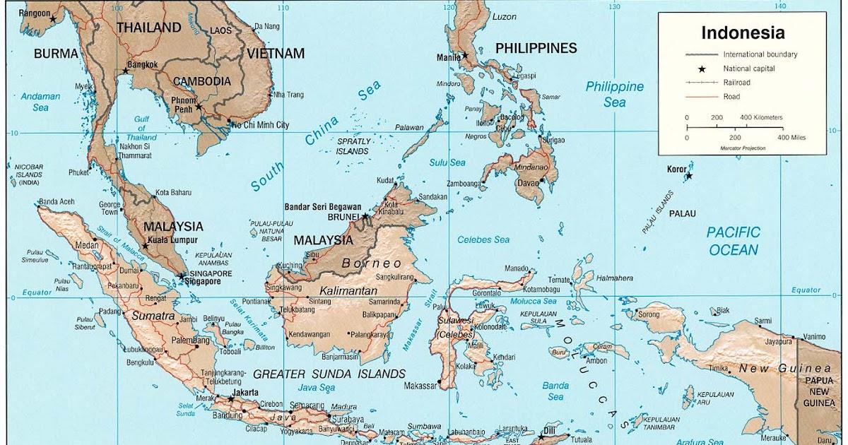 Peta Kota: Peta Indonesia