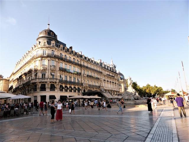 Montpellier, Plaza de la Comedia