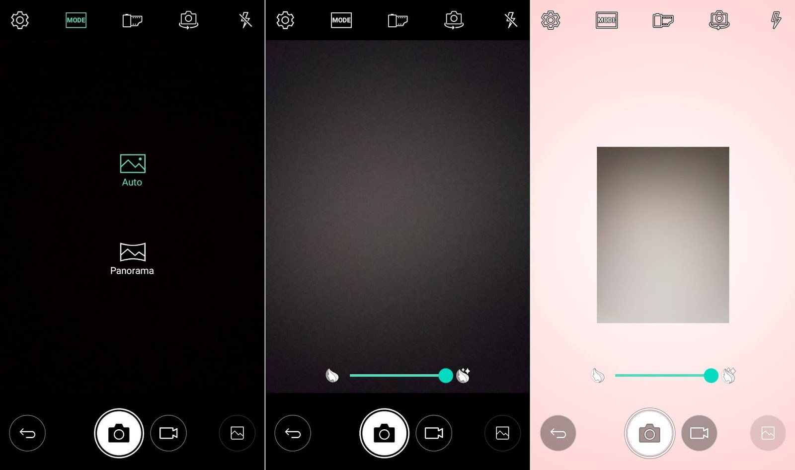LG Stylus 3 Review - Camera Interface