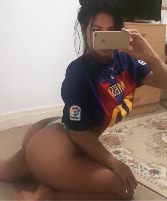 Με sexy τρόπο πανηγύρισε την πρόκριση της Barcelona η Suzy Cortez