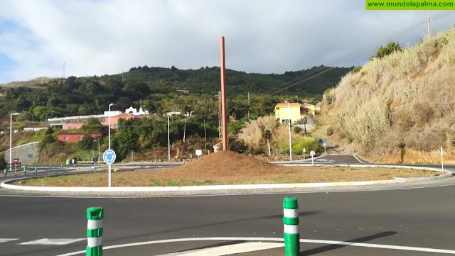 Coalición Canaria en Puntallana reclama que se cumplan los compromisos y se concluya la obra de la rotonda de entrada al casco urbano