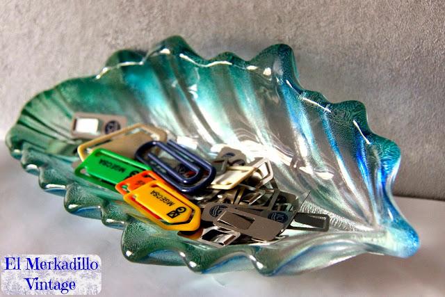 Cuenco de Cristal Vintage (Mod. Hoja)