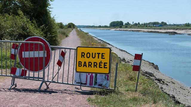 Randonnée à vélo : Voie verte de l'estuaire de l'Orne