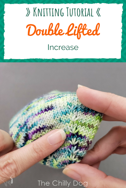 Video Tutorial: How to make a Double Lifted Increase in your knitting