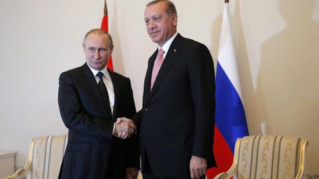 Ο Πούτιν ελπίζει να αποκαταστήσει σύντομα την τάξη στην Τουρκία ο Ερντογάν!