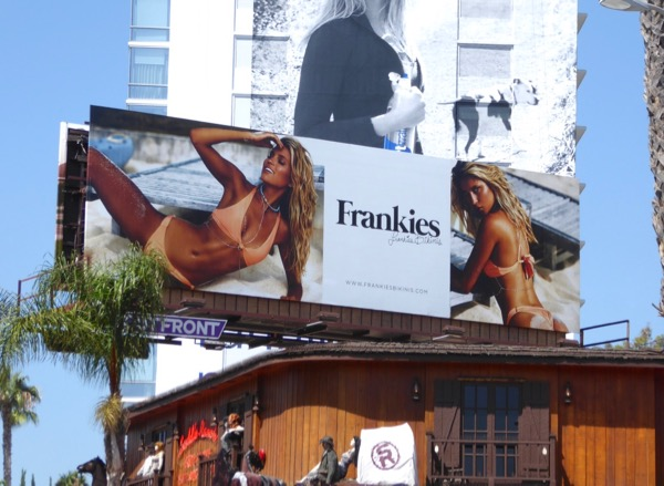 Frankies Bikinis Summer 2017 billboard