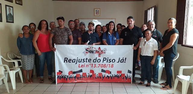 SINDACS-PE oficializa filiação dos Agentes Comunitários de Saúde do município de Panelas